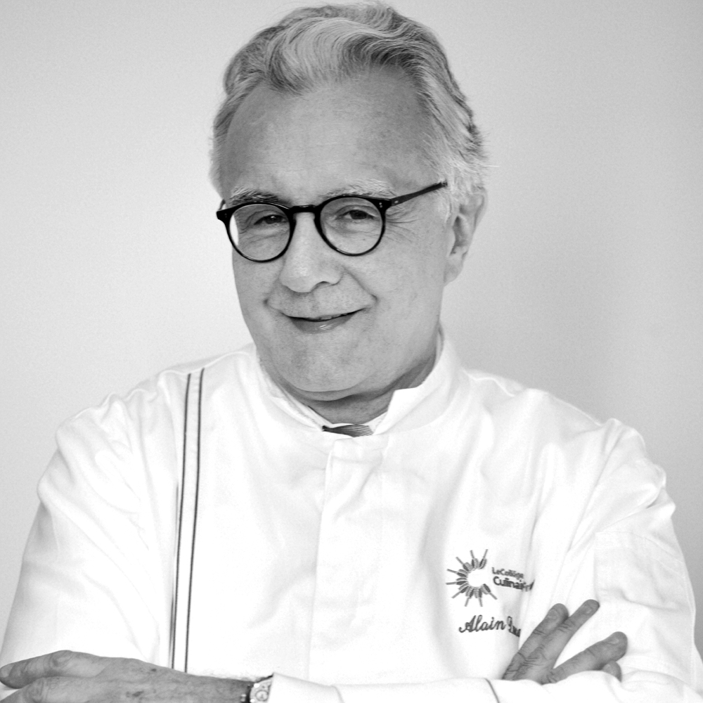 French Chef Alain Ducasse