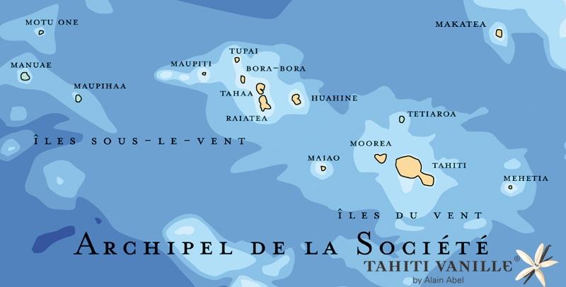 Cartina Mondo Bora Bora.Situazione Tahiti Vaniglia Polinesia Francese